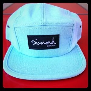 Diamond Supply Co. Snapback/Hat Tiffany Blue